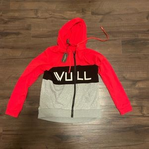 Vull Sport ZIP Hoodie Size Large - NWT